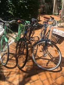 Reid Vintage male and female bikes!