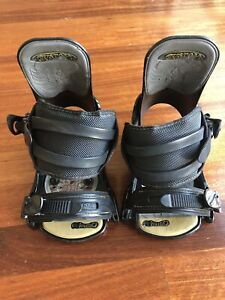 Burton Custom BNDT 13 Vermont Snowboard Bindings - Medium