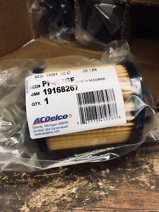 (6) Filtres à Huile AC Delco OEM GM Ecotec 2.0/2.2/2.4L