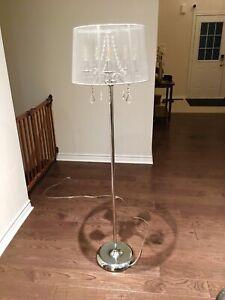 2 Beautiful Floor Lamps - 5 Lights