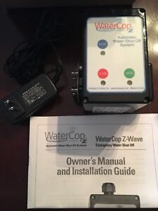 WaterCop Emergency Water Shutoff System