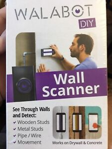 "New ""WALBOT"" wall scanner"