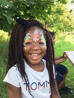 Face painting fun for your next event!