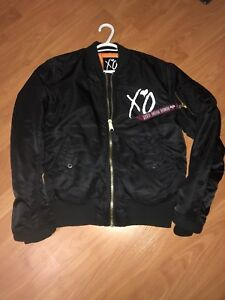 THE WEEKND XO ALPHA BOMBER STARBOY