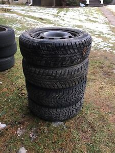 4 winter tires on vw rims