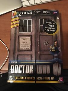 Doctor who action figures in box never opened
