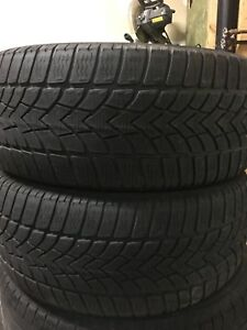 2-225/45R17 Dunlop winter tires