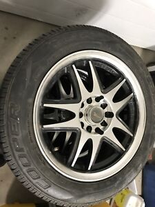 TIRES AND RIMS 114.3 and 120mm x 5