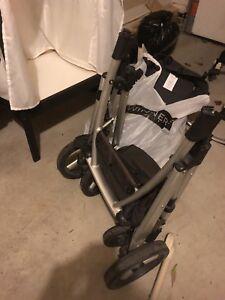 Uppababy vista stroller , basinette, seat