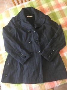 Riki's dressy winter coat.