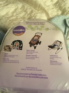 Deluxe head hugger for car seat/stroller etc