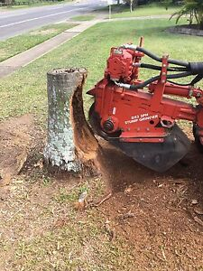 Stump grinding/removal Burbank Brisbane South East Preview
