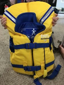 Toddler Roots life jacket