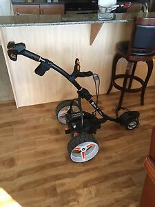 Motocaddy power golf cart
