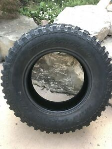 (5)   32 in BF Goodrich tires