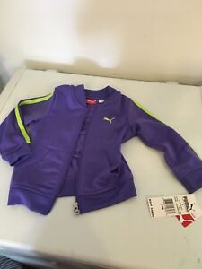 Puma zip up new with tags