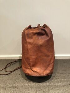 Genuine Moroccan Camel Leather Tote Bag Backpack