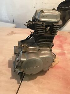 Honda XR 100 motor (parts or fix)