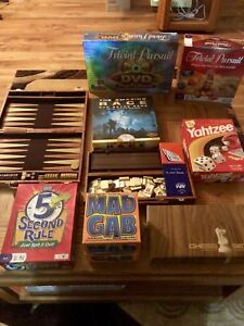 A Whole Lot of Board Games!