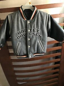 Child's Size 2 Reversible Harley Davidson Jacket