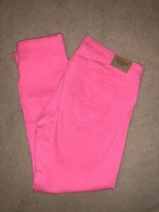New Abercrombie and Fitch hot pink Jeans