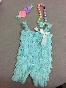 Baby outfit - Easter or first birthday