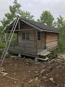 Pine cabin, bunkie, tiny home, shed, hunt camp