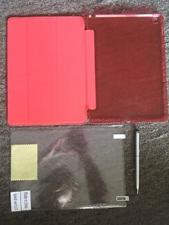 Brand new ipad air 1/2 cover with pen and screen protector//