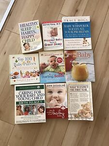 Baby Books (Baby sleep, feeding solids, what to expect etc..)