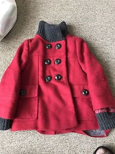 Girls Zara red jacket/coat Meadow Heights Hume Area Preview