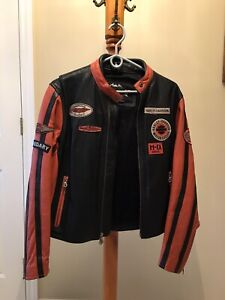 Women's Harley Davidson Leather Coat