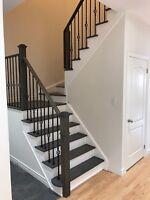 stairs sanding and refinishing
