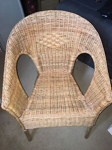 IKEA wicker chair