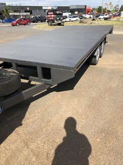 16x8 flat bed trailers Derrimut Brimbank Area Preview
