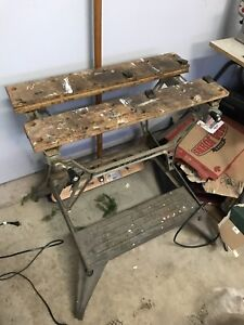 Black and Decker Workmate, well used