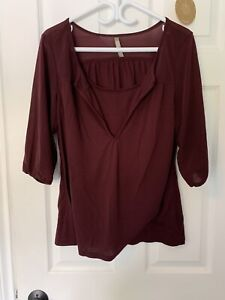Nursing tops size large