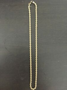 14k gold plated 20 inch chain