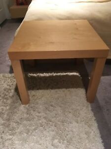 IKEA Lack wooden side table