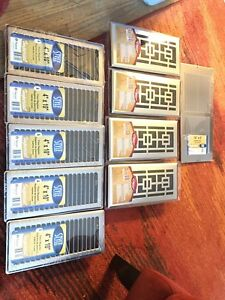 Brand new 4 inch registers 9 in total unopened