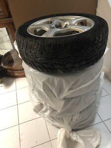 Tires/rims/metal