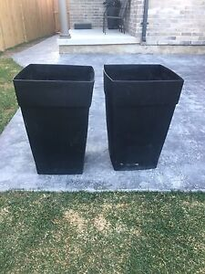 MOVING - Two Large Planters