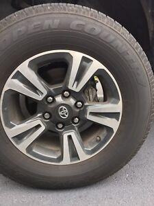 """Toyota Tacoma alloy wheels 17"""""""