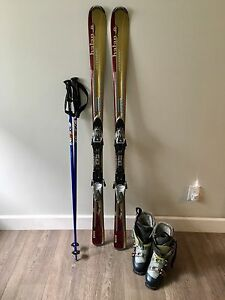 ladies downhill ski package