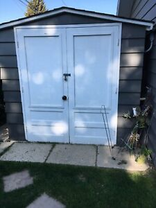 Garden shed for free