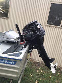 11ft Tinny + Brand New 15hp outboard