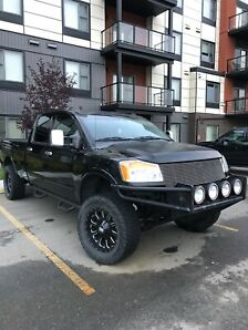 TITAN Truck - One of Kind Lifted Long Box - Price Reduced
