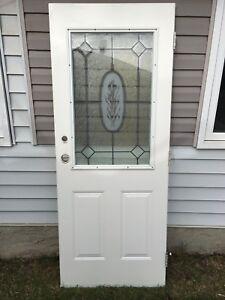 Decorative Steel Door