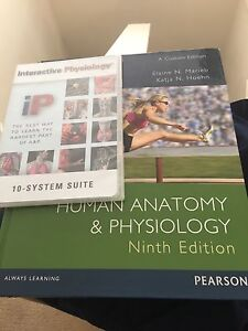 Human Anatomy & Physiology Ninth Edition Book and DVD Belmont Belmont Area Preview