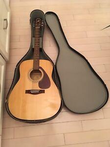 Yamaha Acoustic Guitar - great beginner guitar