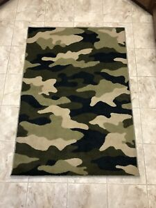 Camouflage Area Rug